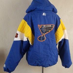 Vintage 90s Starter St Louis Blues Jacket Mens L